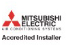 Mitsubishi Accredited air con installer